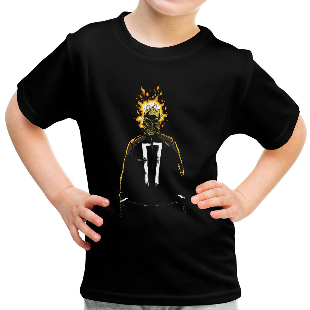Ambasciatore DELLA VENDETTA GHOST RIDER KID/'S T-shirt