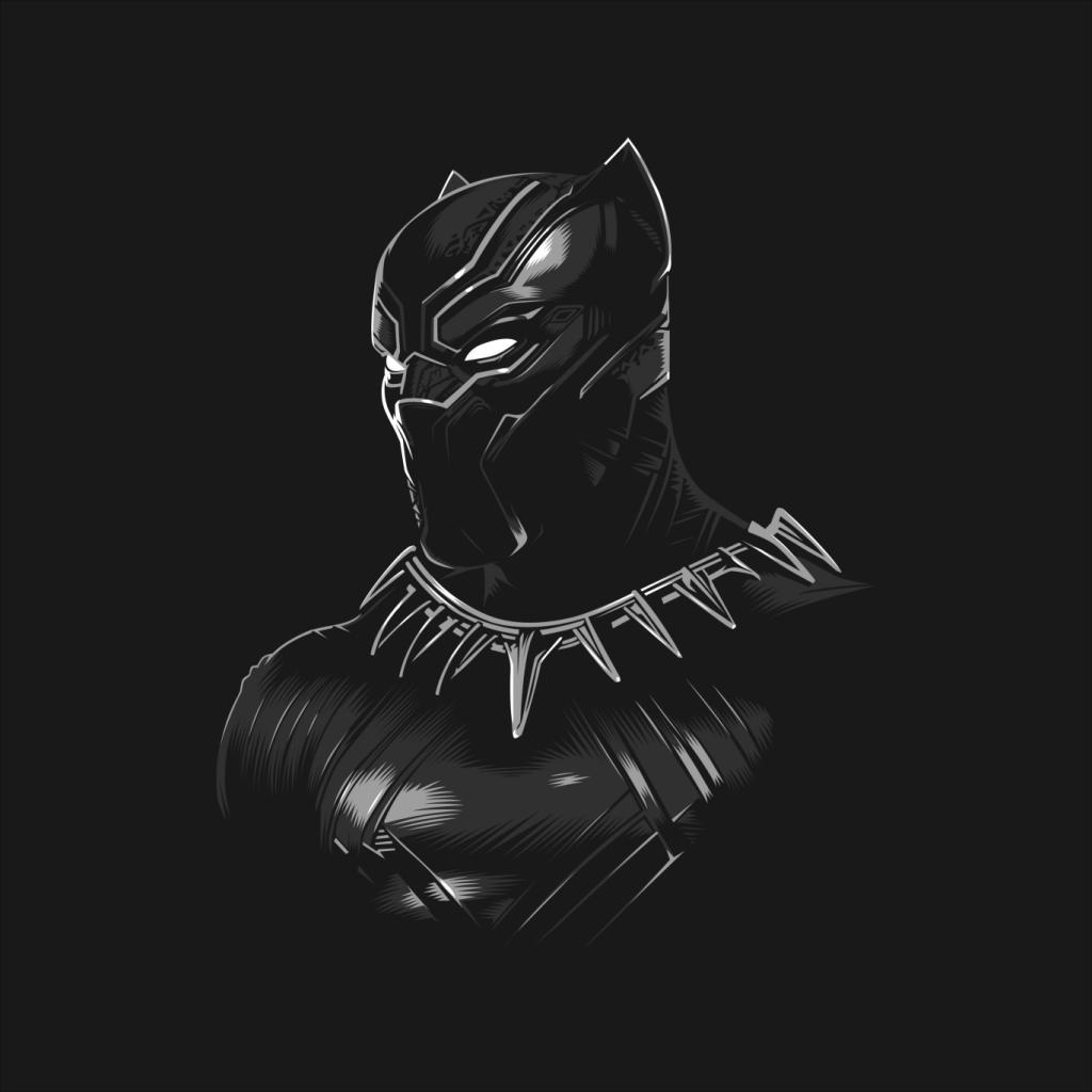 Marvel-Comics-Black-Panther-Men-039-s-T-Shirt thumbnail 5
