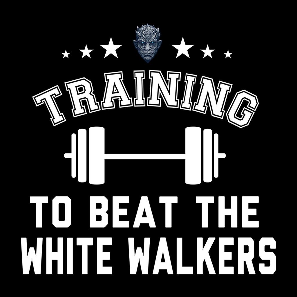 Capacitacion-para-vencer-el-blanco-Walkers-GAME-OF-THRONES-Para-hombres-Camiseta miniatura 2