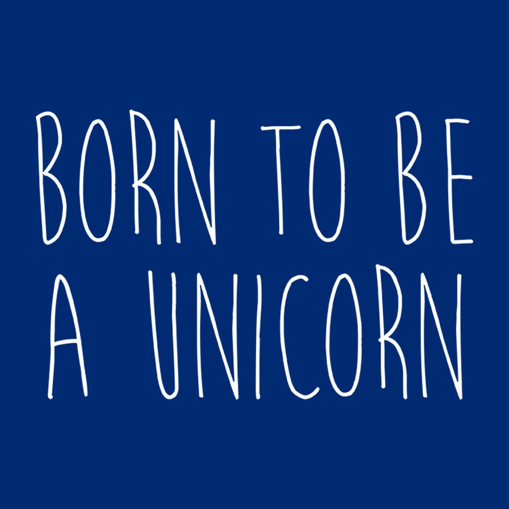 To Felpa Born donna Blu da Unicorn A di Be 6qAIpA1w