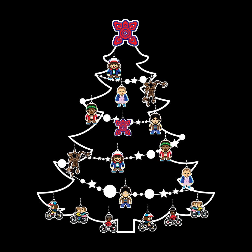 Stranger Things Christmas Tree Baubles Kid/'s T-Shirt
